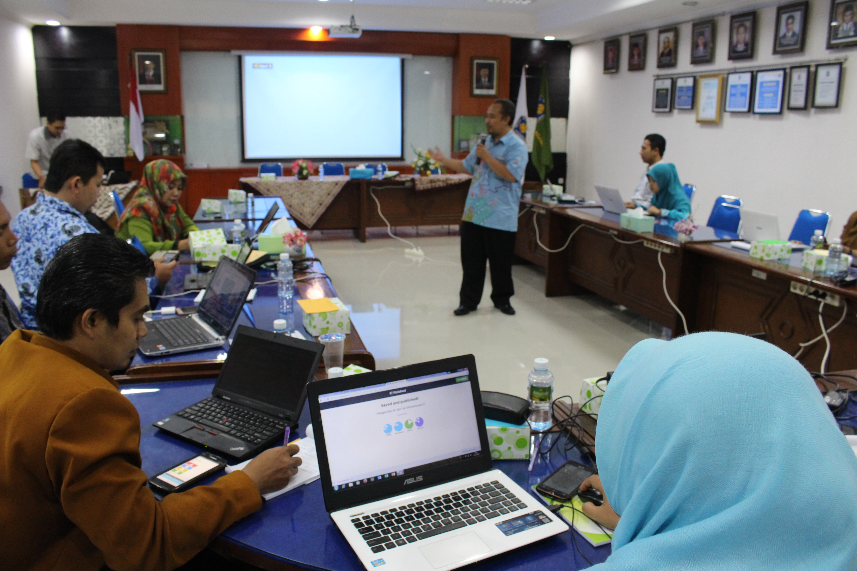 PAI adakan Training IT Blended Learning untuk Guru Madrasah
