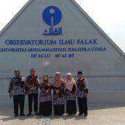 Songsong Gedung Baru, FIAI Studi Banding ke Observatorium Falak UMSU