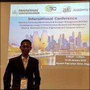 Mahasiswa PPs FIAI Presentasi di International Forum BEASM di Singapura